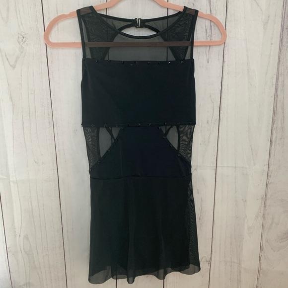 Balera Lyrical Dress with Mesh Skirt